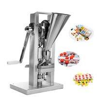 Manual Type Single Punch Tablet Press 15kN Pill Making Machine Maker TDP 0