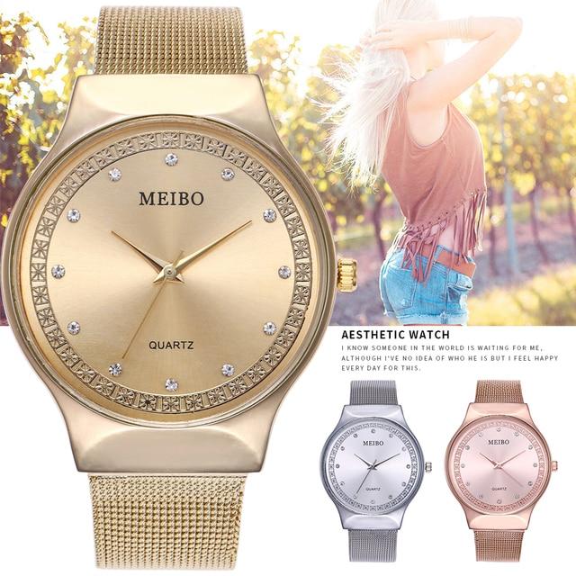 2019 Luxury Watch Women Watches Geneva Famous Brands Rhinestone Ladies Dress Qua
