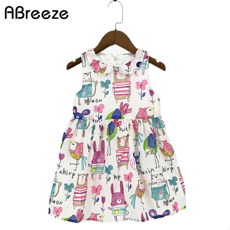 2018 Новые летние детские платья для - Детская одежда