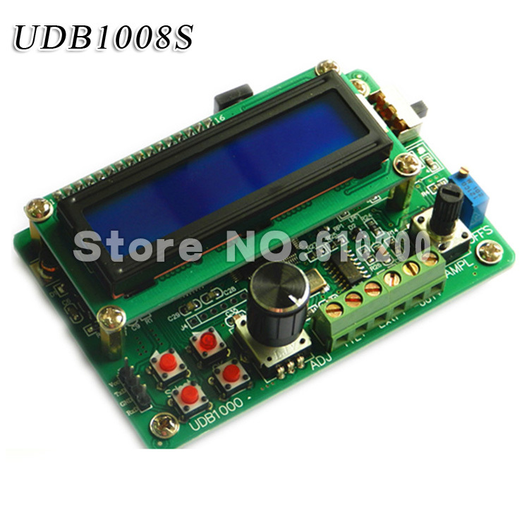 UDB1000 series DDS Signal source module Signal generator 8MHz Frequency sweep and Communication function 60MHZ frequency meter udb1002s series dds signal source module