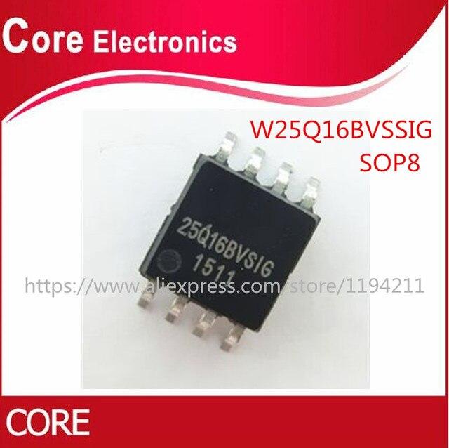 100PCS W25Q16BVSSIG SOP8 W25Q16 25Q16BVSIG SMD W25Q16BVSIG SOP 8 Original IC