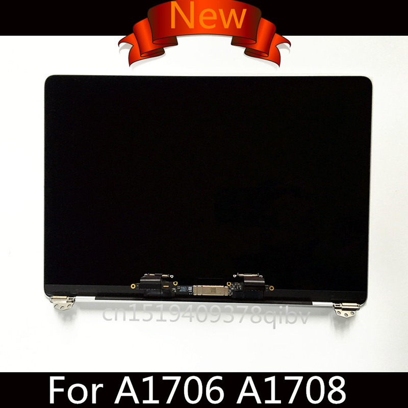 """Brand New A1708 LCD Screen Assembly For Macbook Pro Retina 13"""" A1706 LCD Assembly Full Display Complete Grey/Silver MLH12LL/A"""