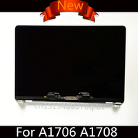 Brand New A1708 LCD Screen Assembly for Macbook Pro Retina 13 A1706 LCD Assembly Full Display Complete Grey/Silver MLH12LL/A
