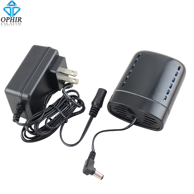 OPHIR Portable Rechargeable Battery Mini Air Compressor  with Power Charger Airbrush Compressor Accessories_AC079B