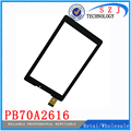 "Original 7 "" inch PB70A2616 Tablet Touch Screen Touch Panel digitizer Glass Sensor Replacement Free Shipping"