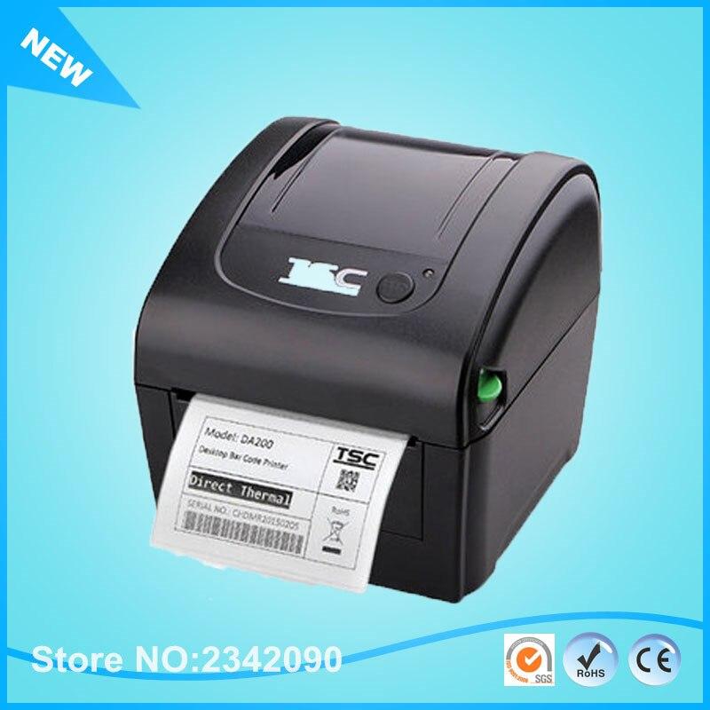 Tsc da200 desktop durable thermal printer special for printing 4x6 express bill sticker label impressora termica 108mm label in barcode printer from