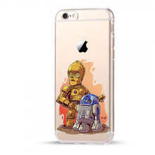 Star Wars Cartoon Characters Phone Case For Apple iPhone 6 6S 7 8 Plus X 5 5S SE