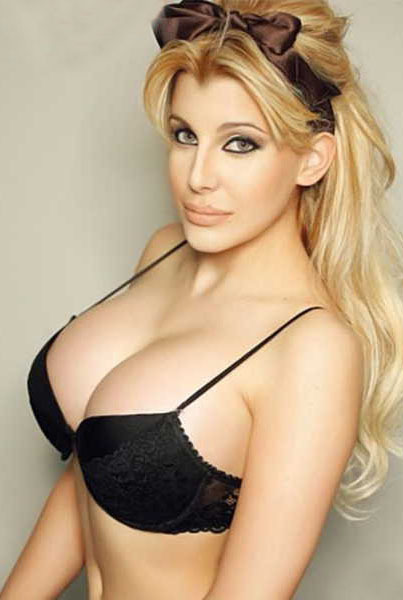 Argentina Claudio Paul Caniggias Daughter Super Sexy Blonde Lips Fat Ass Butt Boobs Hand Painted Oil