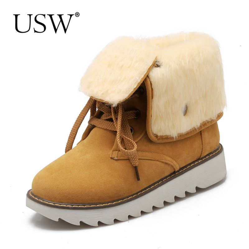Aliexpress.com : Buy Women Snow Boots Winter Ankle Boots ...