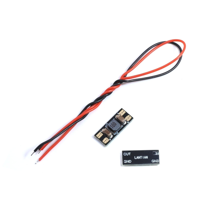 High Quality LANTIAN LC Filter Module DC Power Video Signal Wave Filter 1S-6S For FPV System RC Drone Spare Parts Accessories lc l c power filter 2a 2 4s 25v lipo for fpv fpv video