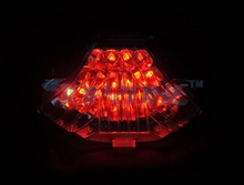 CLEAR Lens LED Motorcycle Tail Light Integrated Turn signal For YAMAHA FZ-07 (MT-7) 2014-2015