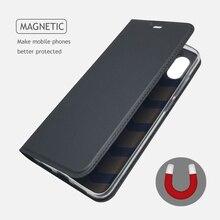 For Xiaomi MI 8 Case Soft PU Stand Book