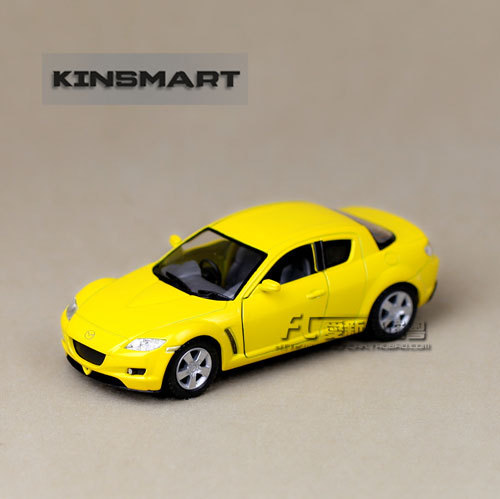 Metal mini car vehicles model Bulk soft world MAZDA rx8 WARRIOR alloy car model toys gift for children christmas
