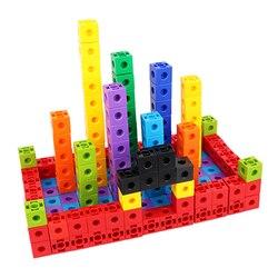 100 pcs di Costruzione di Giocattoli Per Bambini di Costruzione Cubo Blocchi di Giocattoli Educativi Per Bambini giocattoli Del Bambino di Design FAI DA TE Divertente Mattoni brinquedos
