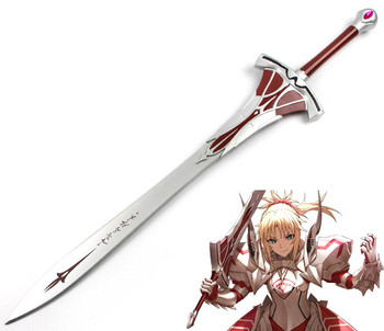 Fate/Apocrypha Fate Grand Order Mordred Cosplay Weapon Props Fate Apocrypha Sword Cosplay Props for Halloween and Party