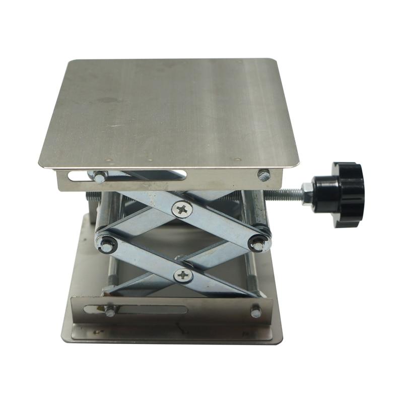Купить с кэшбэком LY 100*100 Lifting platform for desktop laser engraving machine and laser marking machine max adjust height 110mm