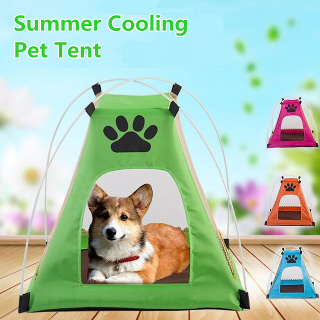 Summer Cooling Dog House Cat House Pet Dog Bed Cat Bed Cat Tent Dog Tent Breathable  sc 1 st  AliExpress.com & Summer Cooling Dog House Cat House Pet Dog Bed Cat Bed Cat Tent ...