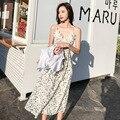 2019 Для женщин тюль платье модные эластичные Высокая Талия Сетчатое платье-пачка Плиссированное длинное платье миди платье для Femmle