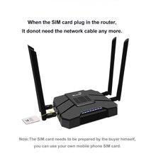 3g 4g lte роутер с модемом Wi Fi роутер мощный сигнал 4G Мобильный роутер Wi Fi репитер 5g и 2,4g Wi Fi сигнал для наружного путешествия