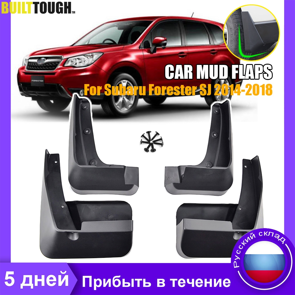 OE Styled For Subaru Forester 2014-2018 Splash Guards Mud Flaps Mudguards Black