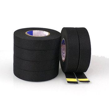 15 metrów przewody taśma z tkaniny ochrona przed wysoką temperaturą taśma uprzęży taśmy samochodowe akcesoria do kamery radiowej z czujnikiem DVR tanie i dobre opinie Wires Fabric Fabric Tape 1 9cm Testery elektryczne i przewody pomiarowe Auto-Partner 0 05kg