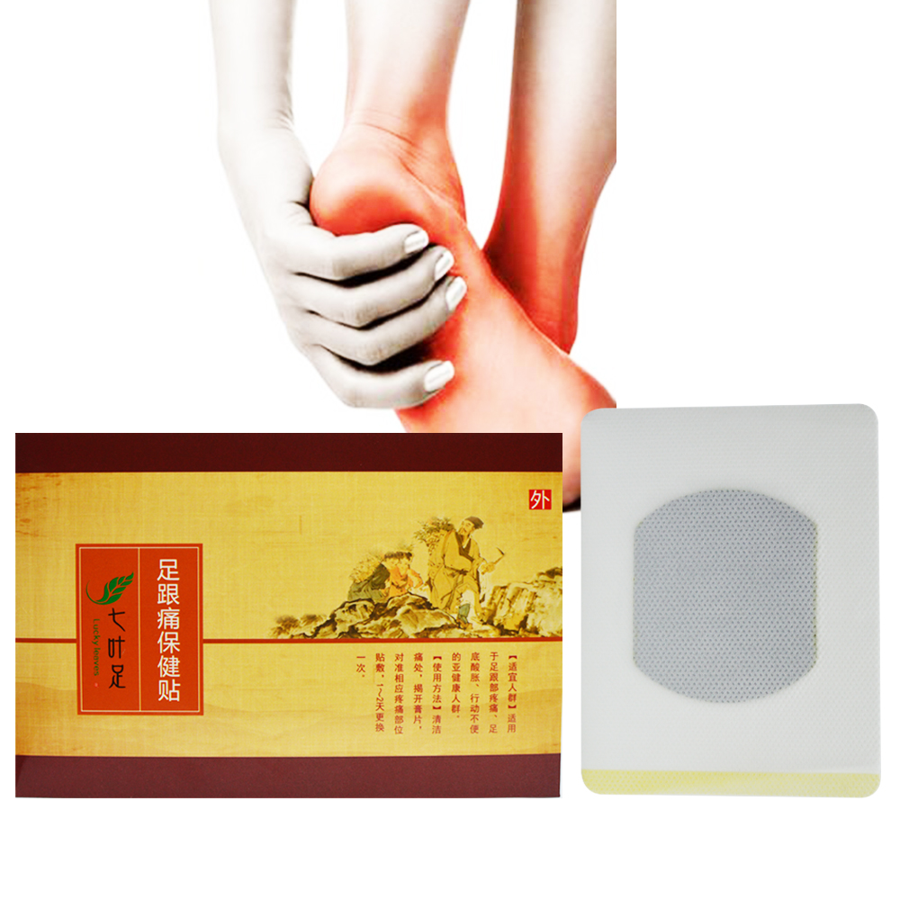 10Pcs Herbal Heel Spur Pain Relief Patch Calcaneal Spur Insoles Achilles Tendinitis Foot Care Tool Herbal Patch B118
