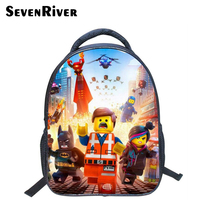13 Inch Hight Quality Lego Batman Cartoon Backpack Colorful Kids Schoolbags Cool Child Student Boy School