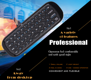 Image 4 - Wechip W1 Engels Versie 2.4Ghz Draadloze Toetsenbord Mini Fly Air Mouse Met Ir Leerfunctie Voor Tv Box Computer x96 Mini H96