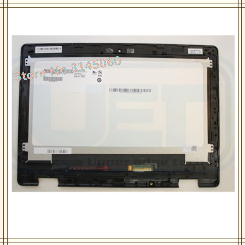 HD LCD Touch Screen Digitizer Display+Bezel for Acer Chromebook R11 C738T N15Q8