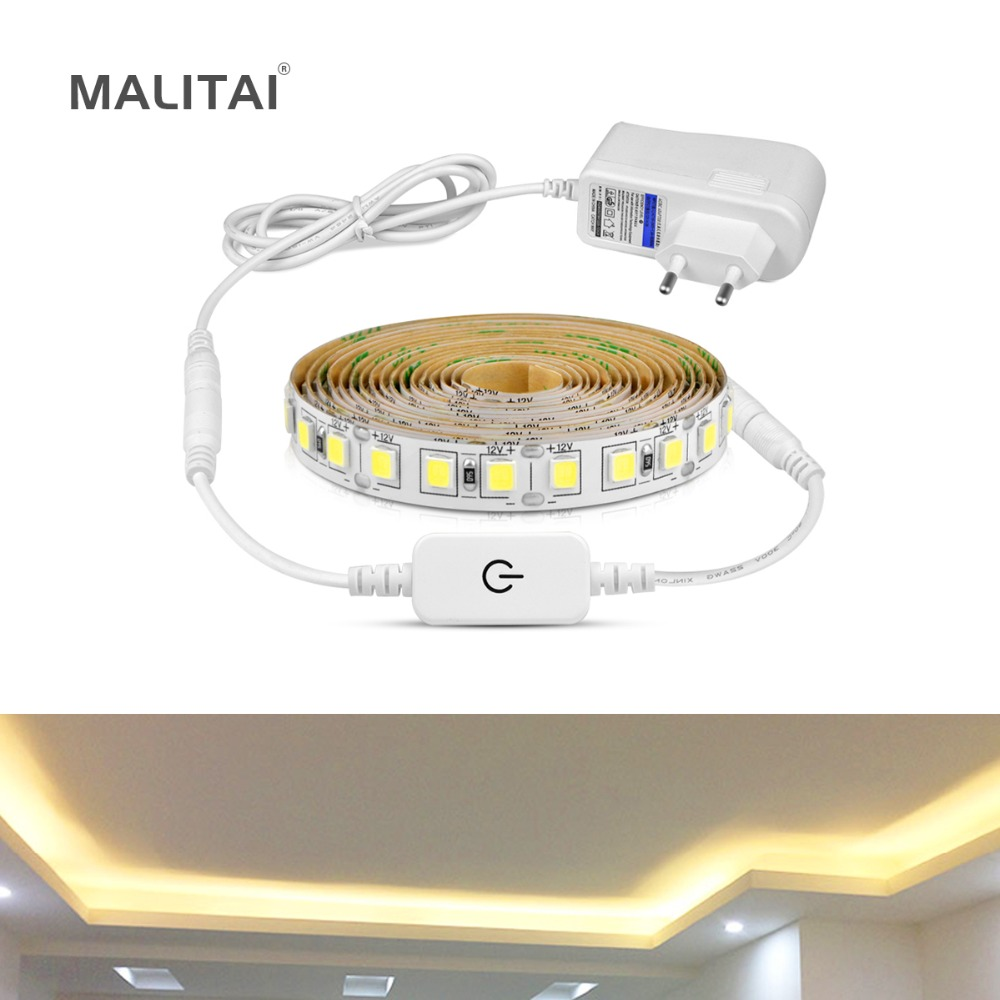 Ultra Bright 5M LED Under Cabinet Kitchen Light Dimmable