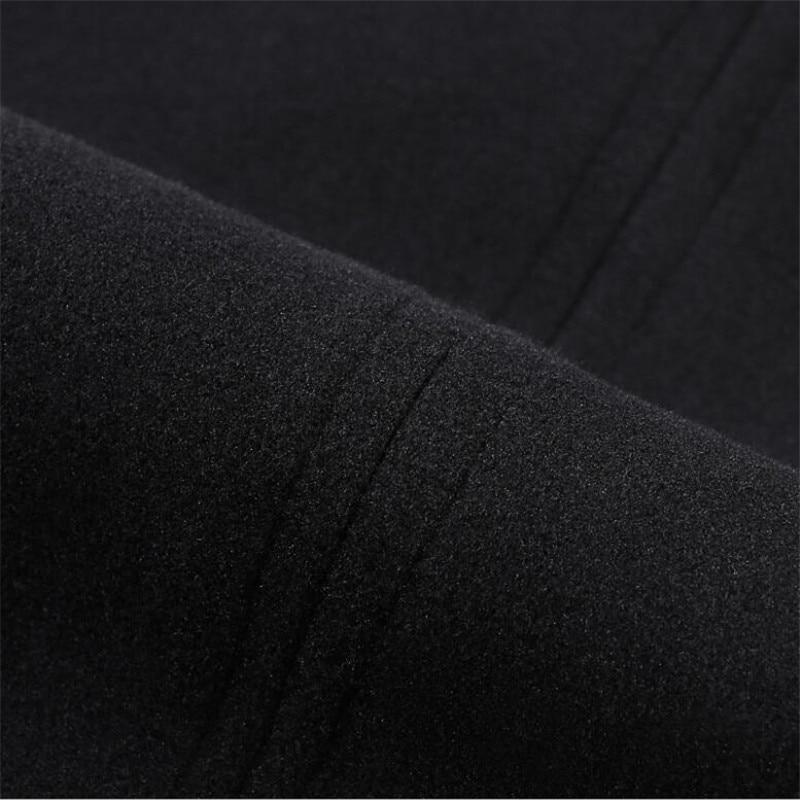 Midi Mujeres Mujer Jupe Casual Las Alta Cintura De Faldas Lápiz Negro Nuevo Vestido Hace Invierno Otoño Falda Elegante Hendidura WqR0wTSgU