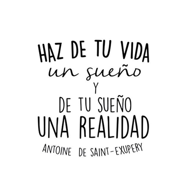 Positive Quotes In Spanish Spanish Inspirational Positive Quotes Haz De Tu Vida Vinyl Wall  Positive Quotes In Spanish
