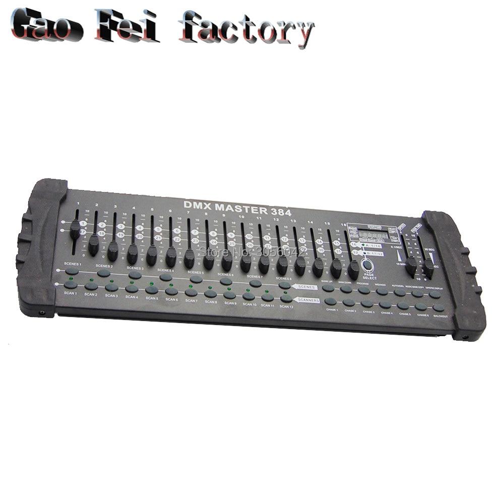 384 Light Controller DJ Console Equipment 12 Light 32 DMX Channels384 Light Controller DJ Console Equipment 12 Light 32 DMX Channels