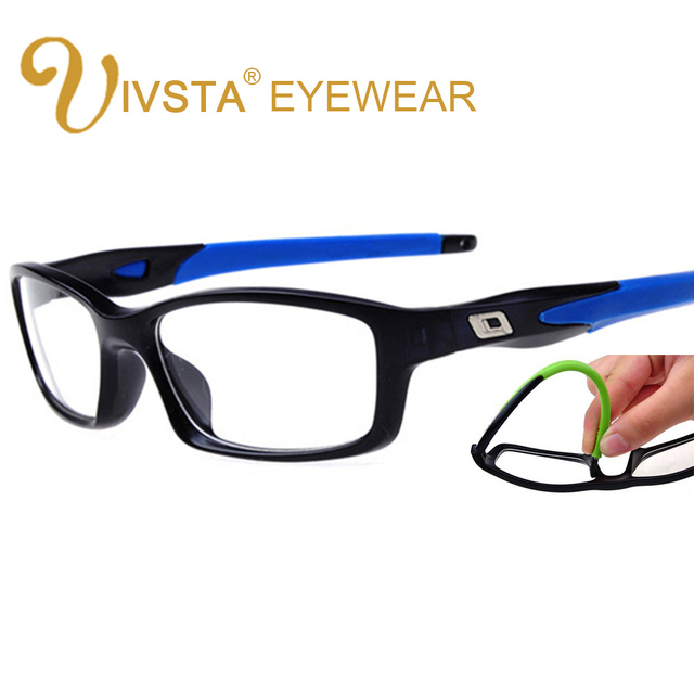 b5ae516beb IVSTA O Brand Basketball Football Glasses Men Matte Memory Spectacles Frame  Prescription Silicone anti skidding Goggle