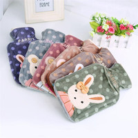 Hot Water Bottle New Winter Lovely Cat Hot Water Bottle With Detachable Soft Cute Animal Fashion Hand Warmer Water Bag JJ004