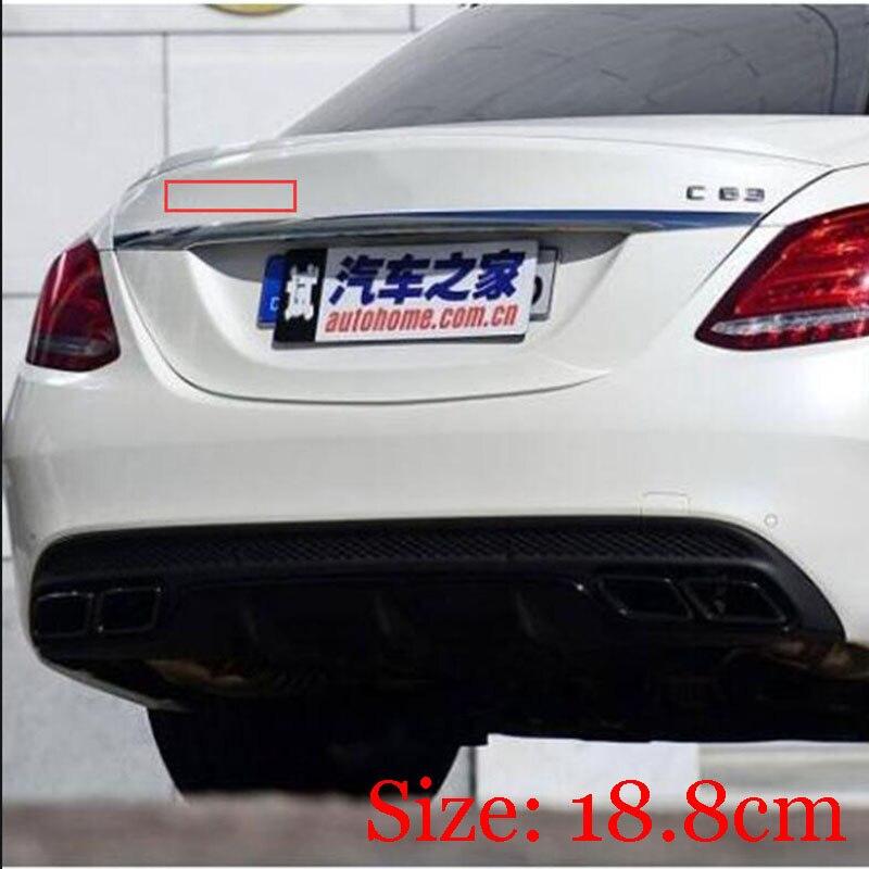 Chrome C63s Trunk Letters Emblem Emblems Badge for Mercedes Benz C63 S AMG