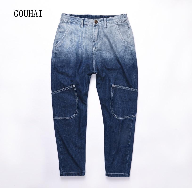 2017 New Fashion Men Biker Jeans Men Ripped Jeans For Men Trousers Pockets Blue Cotton Loose Casual Pants Male Plus Size M-5XL серьги с подвесками эстет серебряные серьги с куб циркониями и пластиком est01с2510678 10z