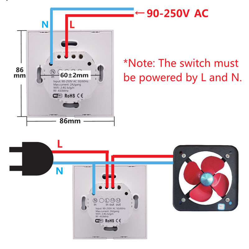 How To Wire Sonoff Light Switch
