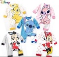 Free Shiping 4pcs/lot 5 colors Fashion Baby Rompers Long Sleeve Baby Clothing for Autumn and Winter Infant Jumpsuits