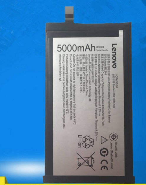FOR LENOVO Vibe P1 P1c58/72 BL244 battery Rechargeable Li-ion Built-in mobile phone lithium polymer battery cool coolpad god s6 original mobile phone built in battery cpld 323 battery for 9190