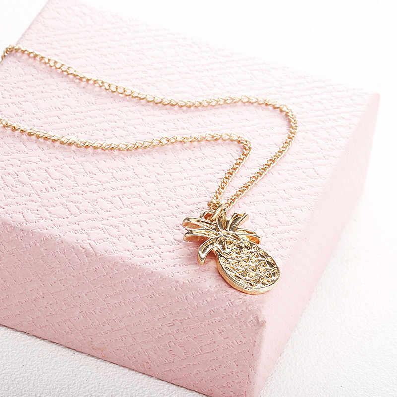 0f9f9ee95 ... Fashion Design Pineapple Pendant Necklace For Women Girl Vintage Fruit  Cute Link Chain Necklace Golden Color