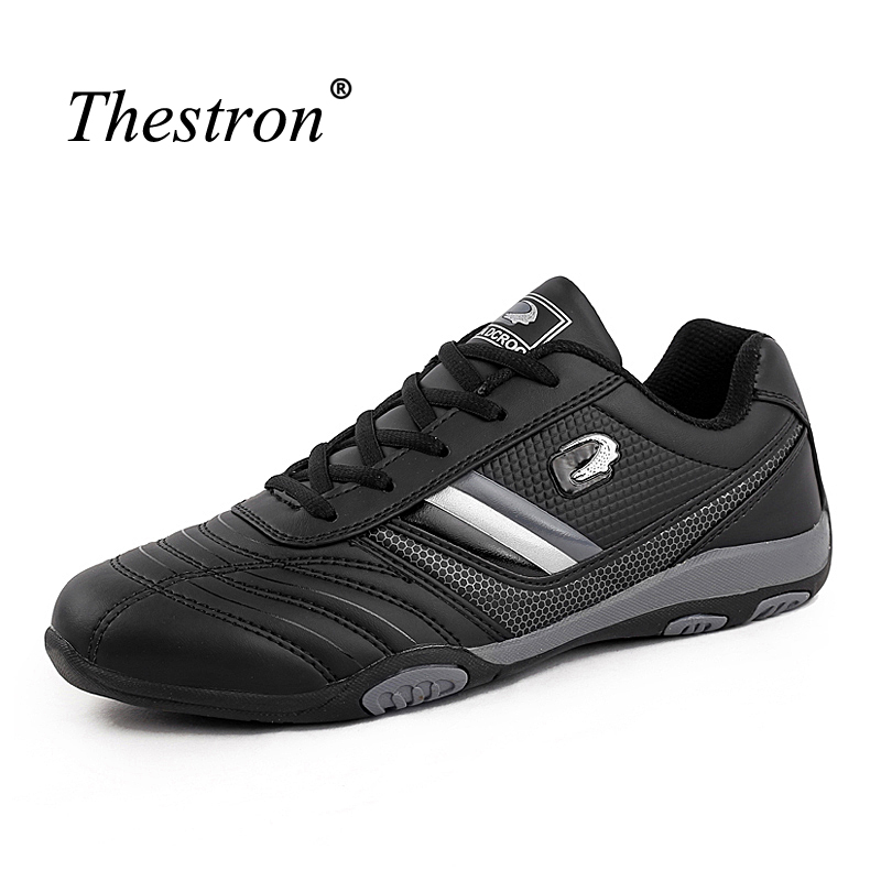 Sports Shoes For Men Black Trail Running Shoes Breathable Leather Man Sneakers 11 Comfortable Mens Gym Trainers