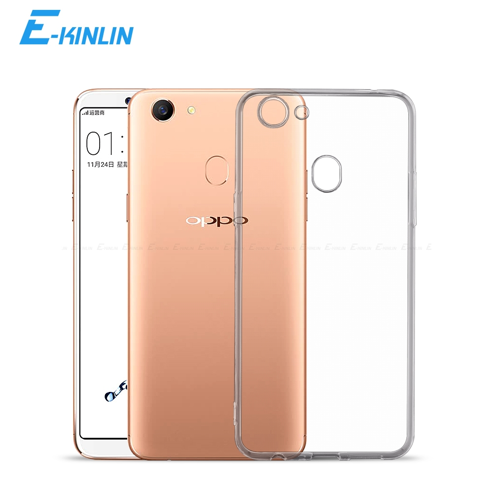 Ultra Slim Clear Silicone <font><b>Case</b></font> For <font><b>Oppo</b></font> F11 F9 Pro F7 F5 F3 <font><b>F1s</b></font> F1 Plus Youth Lite Neo 9 7 Back Soft TPU Protection Cover image
