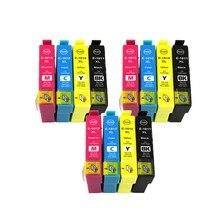 T1811-T1814 совместимый чернильный картридж для принтера EPSON XP-212 XP-215 XP-312 XP-315 XP-412 XP-415 XP-225 XP-322 XP-325 принтеры полный чернил