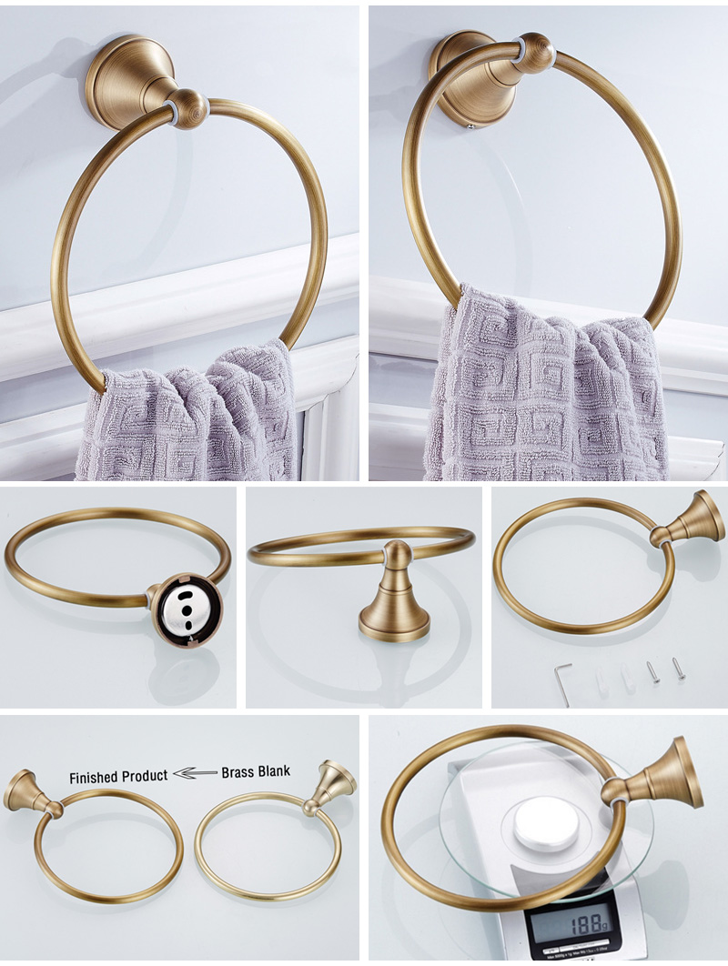 towel ring Holder bronze 2