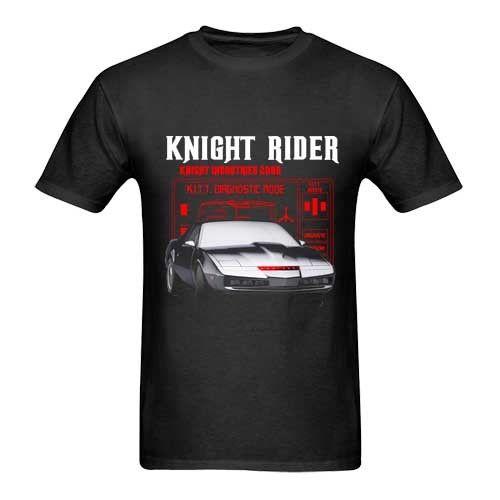 Gildan Knight Rider KITT Car Tshirt New Mens T-Shirt Size S to 3XL