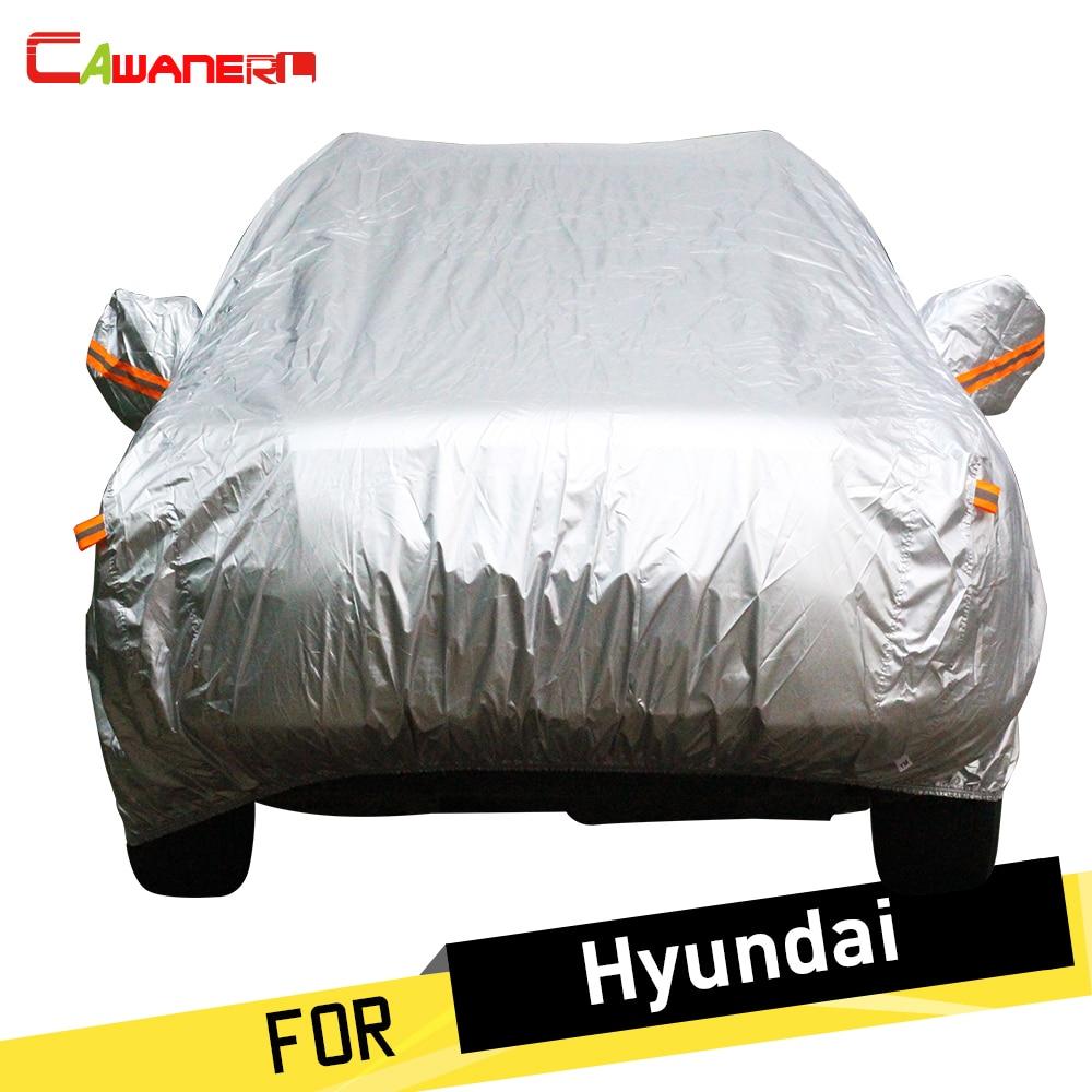 Cawanerl SUV Car Cover Anti UV Sun Snow Rain Protector Cover For Hyundai XG Rohens Coupe