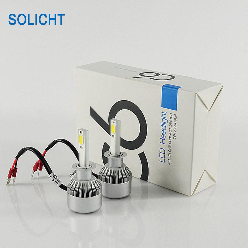 SOLICHT C6 led headlight