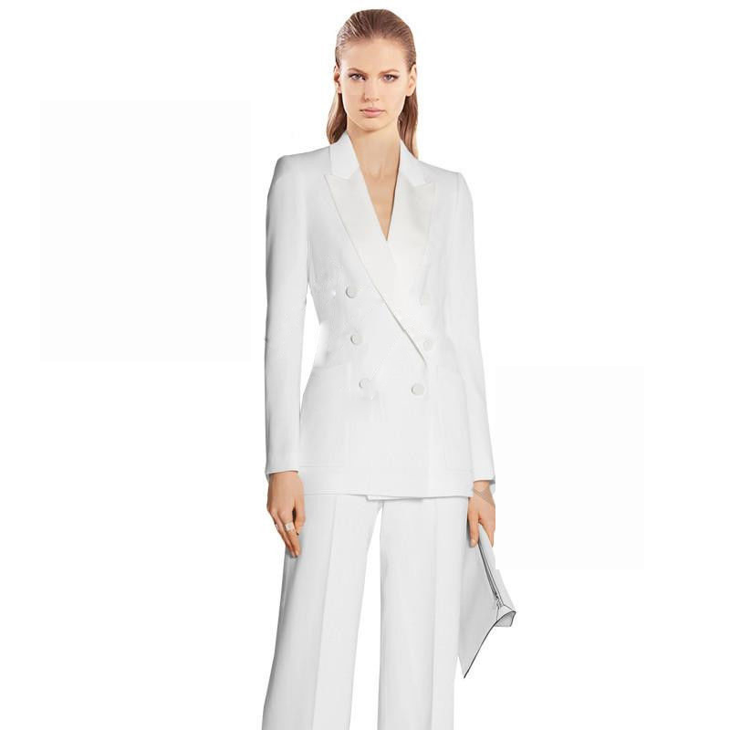 Wedding Pant Suits.Us 78 68 20 Off Office Uniform Women Female Business Suit Women Pant Suits 2 Piece Tuxedos Suits For Wedding Outfit Blazer Trouser Jacket Formal In