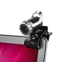 Alta calidad 360 grados usb 12 m hd cámara web cam Clip-on Digital Webcamera Video con Micrófono MIC para el Ordenador PC Laptop